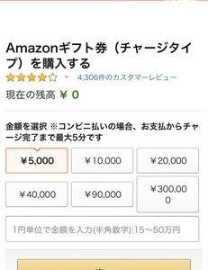 アマゾンチャージを使って1000ポイントゲットしました!