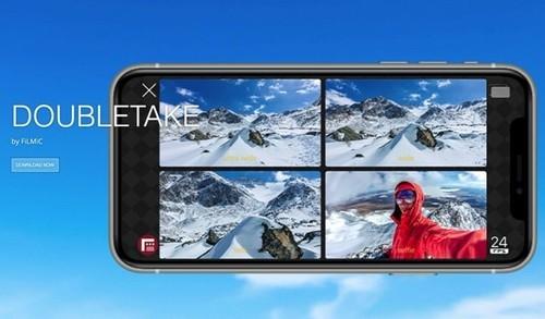 iPhoneをマルチカムにできるアプリ! Double Take(ダブルテイク)の使いかた