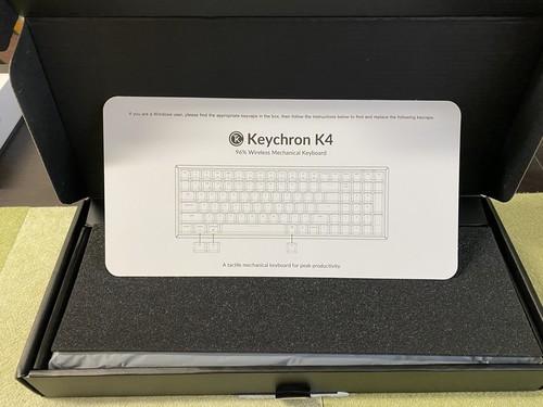 keychronK4 キーボード
