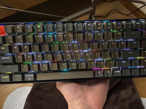 keychronK4 キーボード RGB バックライト