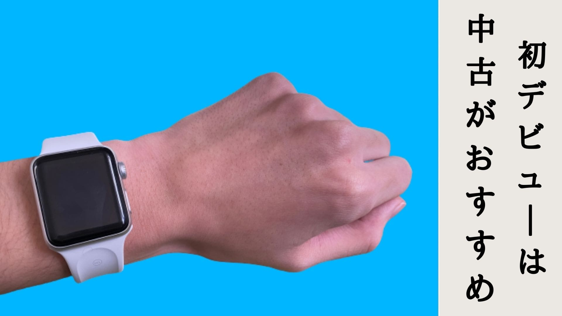 Apple Watch Series 3 中古 おすすめ